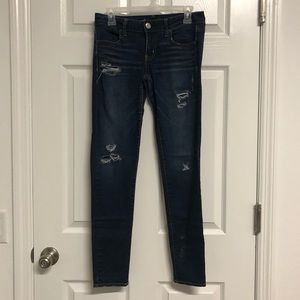 Women's jeans size 4 jegging super stretch